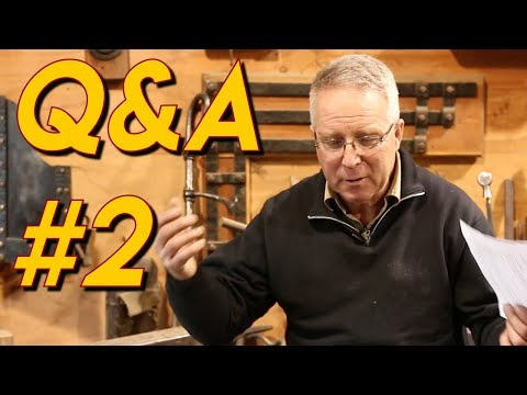 Q&A #2: Regrets/Mistakes, Sharpening Saw, Beginning Welding, etc.