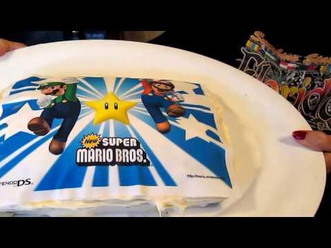 how to make super Mario Bros. cake 1/30/2017 yummy
