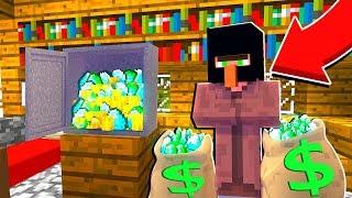 ЭТОТ ЖИТЕЛЬ БАНДИТ ОГРАБИЛ ДЕРЕВЕНСКИЙ ДОМ МЭРА В МАЙНКРАФТ 100% ТРОЛЛИНГ ЛОВУШКА Minecraft