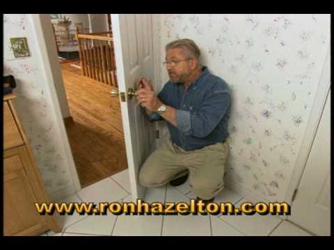 How to Remove and Replace a Door Latch