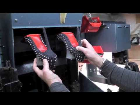 Christian Louboutin Spike Shoes Protective New Sole
