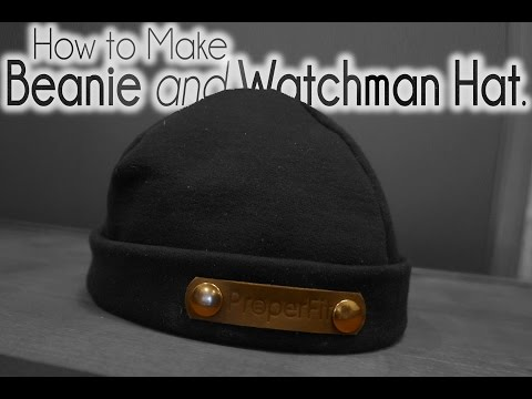 How to make Watchman Hat Beanie