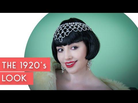 1920s Vintage Makeup tutorial
