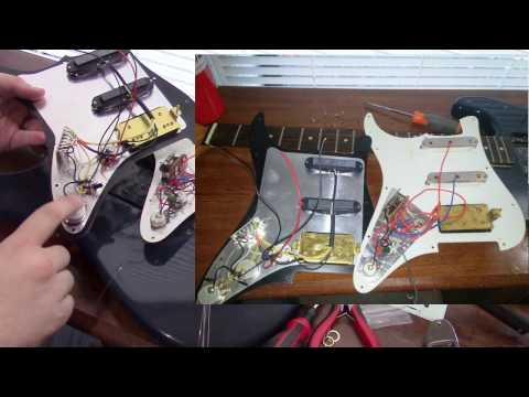 How hard is it to Install Pre-wired Loaded Pick Guard from Guitar Fetish for A Strat