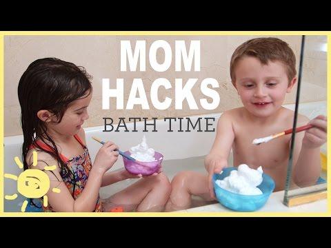 MOM HACKS ℠   Bath Time! (Ep. 5)