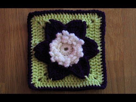 Granny Square #7 - Flower Granny