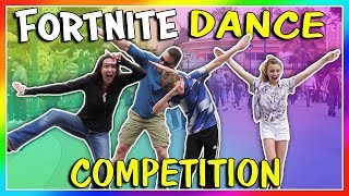 FORTNITE DANCE COMPETITION! | We Are The Davises