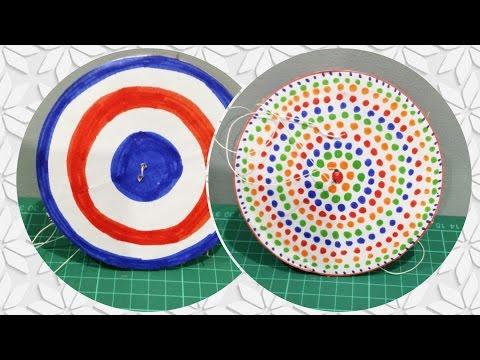 DIY- Paper Spinner | Yo Yo | Enjoy Crafting # 32