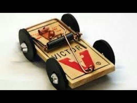Making a mouse trap car