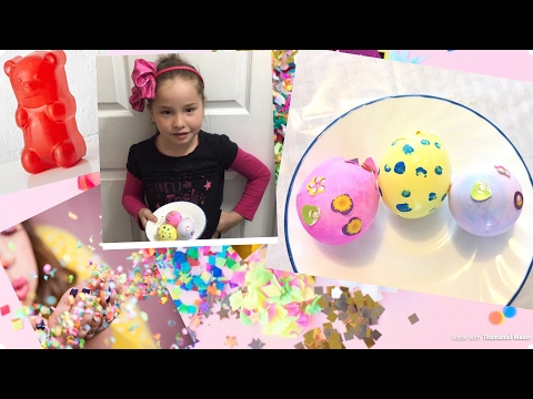 DIY Confetti Easter Eggs  Great For Pranks