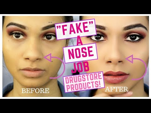 CONTOURING NOSE TUTORIAL - How to make your nose appear smaller?
