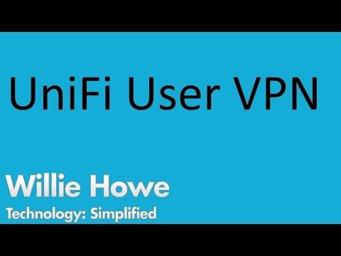 UniFi Remote User VPN