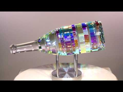 Bella Vino Chardonnay - Glass Sculpture by Jack Storms