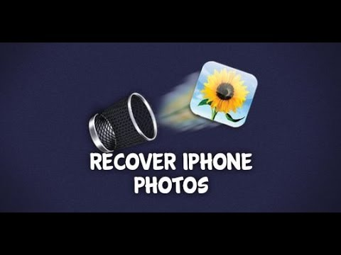 How to Recover Deleted Photos from iPhone 6 Plus/6/5S/5C/5/4S/4/3GS