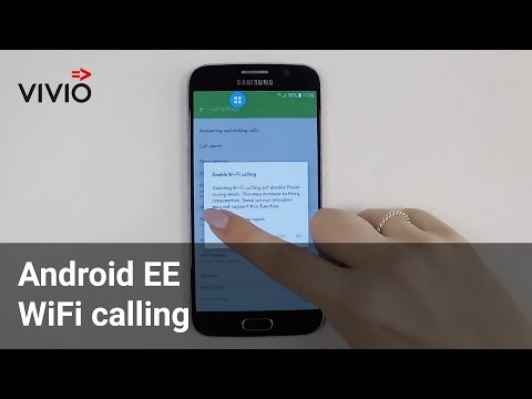 Android EE wifi calling