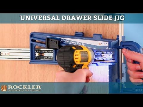 Rockler Universal Drawer Slide Jig