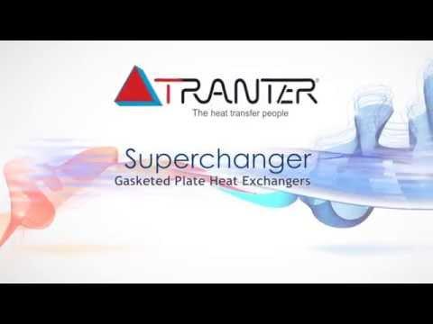 Superchanger Gaskted Plate Heat Exchanger