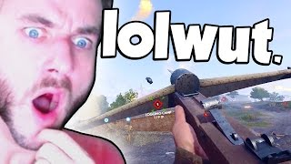 WORLD WAR 1 CROSSBOW! (Battlefield 1 Crossbow - WW1 Crossbow)