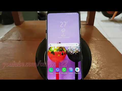 Samsung Galaxy S9 : How to Set Turn on Edge Lighting When screen off (Android Oreo)
