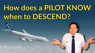 How does a PILOT KNOW when to DESCEND? Descent planning explained by CAPTAIN JOE