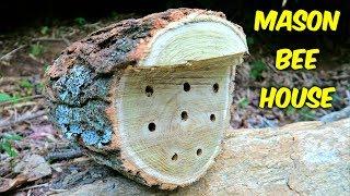 DIY Mason Bee House