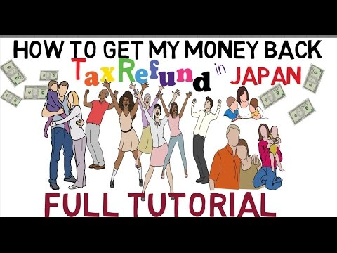 Tax Refund in Japan (Tagalog)