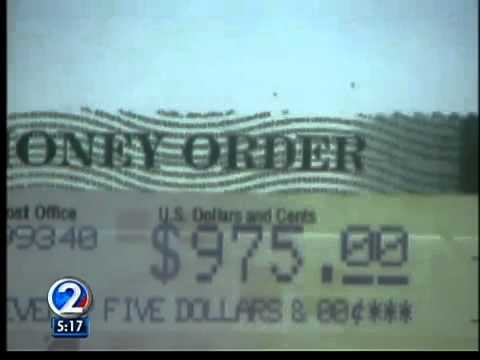 Action Line: Fake postal money orders