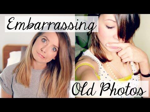 Old Embarrassing Photos | Zoella
