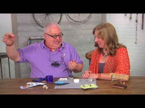 Take wire weaving to a new level on Beads, Baubles and Jewels with Wyatt White (2608-3)