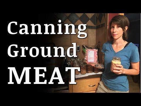 Canning GROUND Beef, Chicken, Turkey, Sausage, Venison