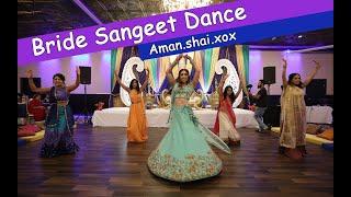 Bride Sangeet Dance | Jiya Jale | Cham Cham | Nagada Sang Dhol