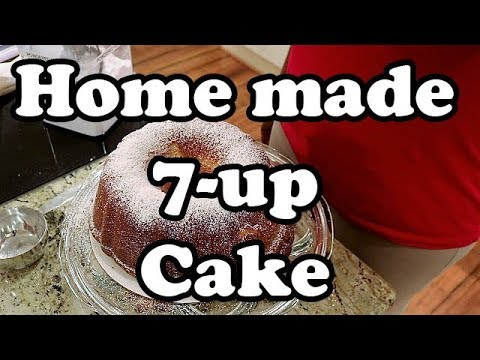 SEVEN UP CAKE | 7 UP CAKE FROM SCRATCH | HOW TO BAKE | POUND CAKE | Chef Lorious