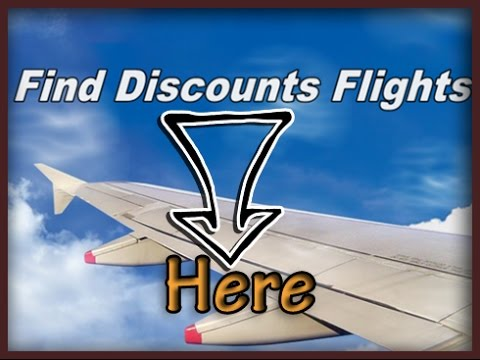 Find Discounts Flights and save money