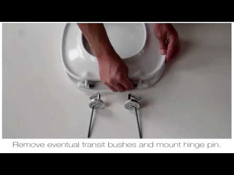 How To Fit A Pressalit BR7 Toilet Seat Hinge