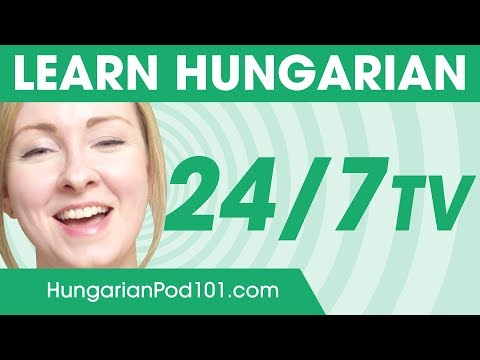 Learn Hungarian in 24 Hours with HungarianPod101 TV