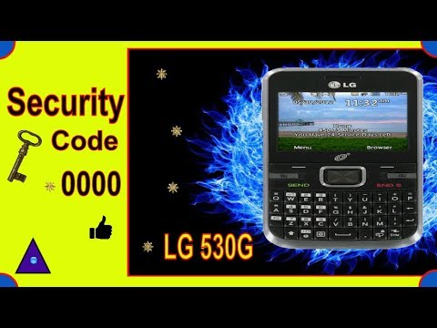 How to Reset LG530 Tracfone & Learn Security Code