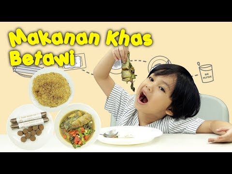 KATA BOCAH tentang Makanan Khas Betawi (Kue Pancong, Kerak Telor, Bir Pletok) | #30