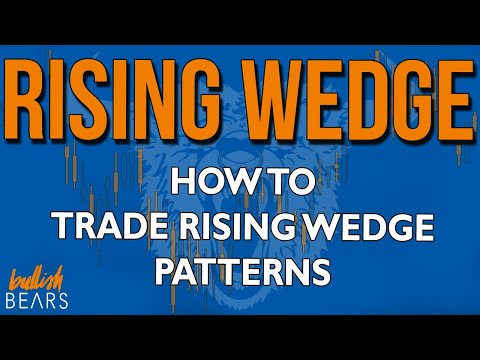 Rising Wedge Patterns - How to Locate a Rising Wedge Pattern on Charts