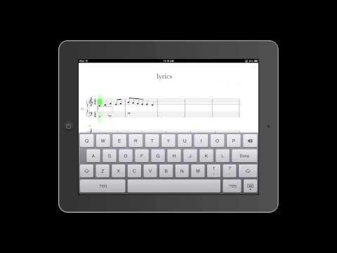 Notion for iPad: Lyrics
