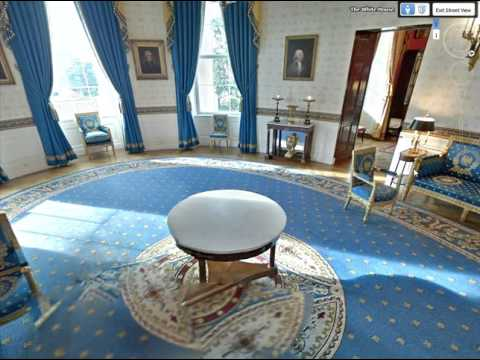 Google Earth White House Tour