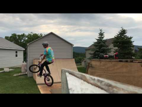 Riding the Half Pipe - and the Amazing DIY