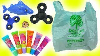 Dollar Tree Haul Fidget Spinners , Yummy Scented Lip Gloss Makeup , Craft Ideas - Cookie Swirl C