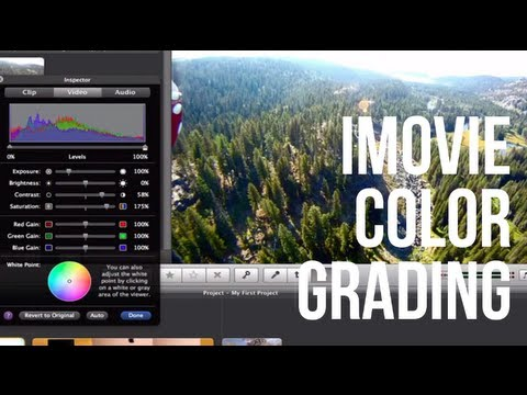 iMovie Effects 4: Color Correction