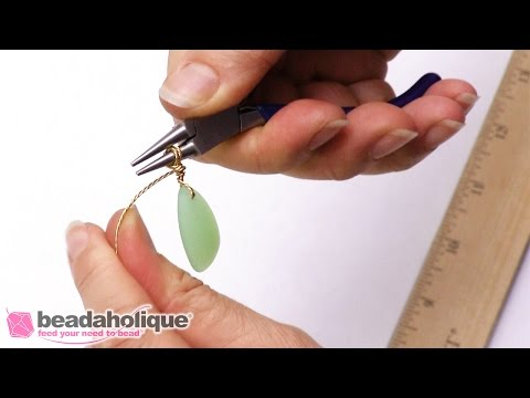How to Create a Wire Wrapped Bail
