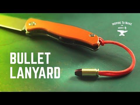 PARACORD BULLET LANYARD
