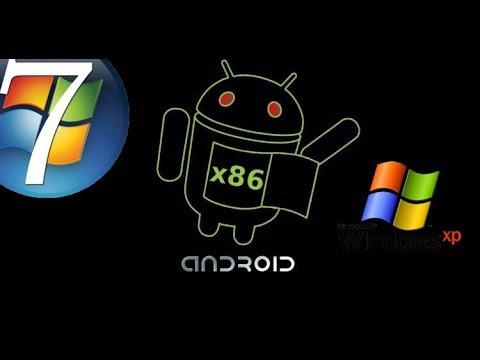 Install/Uninstall Android OS on Windows 7 & Xp (LEAGACY BIOS) (EASY) Desktop, Laptop & Tablet