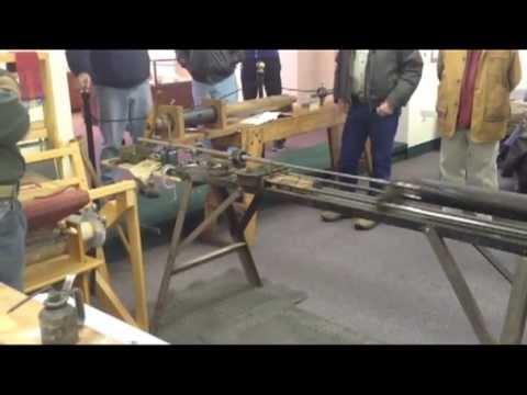 Rifling Machine Demonstration