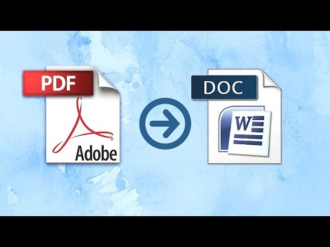 Online pdf to word converter | how to convert pdf to word document online | convert word pdf online