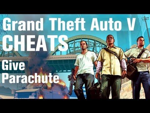 GTA 5 Cheats - Give Parachute