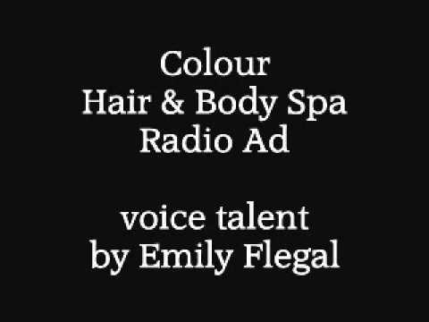 Colour Hair And Body Spa Radio Ad